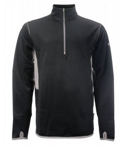 2117 of Sweden Gotland Power 1/4 Zip Fleece Black