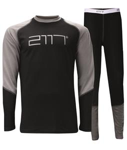 2117 Of Sweden Hede Baselayer Set Black