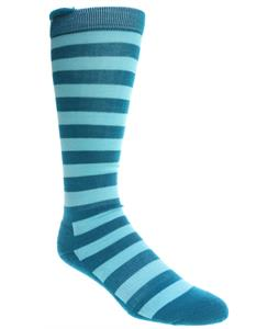 2117 Of Sweden Singi Socks Dark Aqua