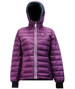 2117 of Sweden Skane Ski Jacket Dk-Purple