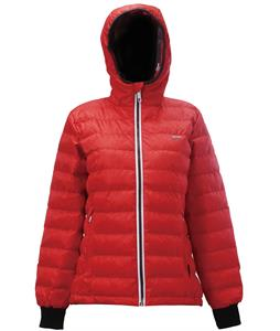 2117 of Sweden Skane Ski Jacket Red