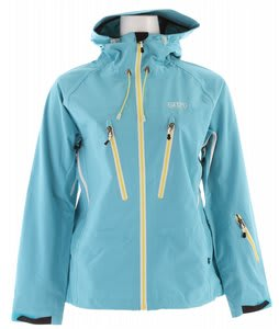 2117 of Sweden Storsylen 3L Ski Jacket Turquoise