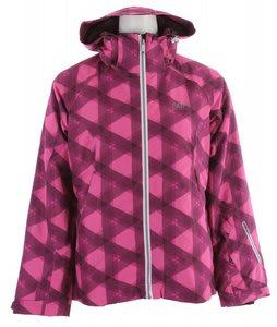 2117 of Sweden Uppland Ski Jacket Pink Print