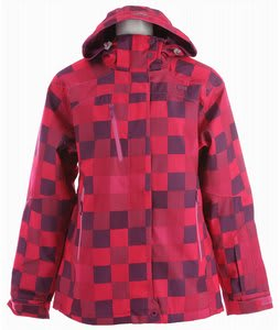 2117 of Sweden Vasterbotten Ski Jacket Cerise Print