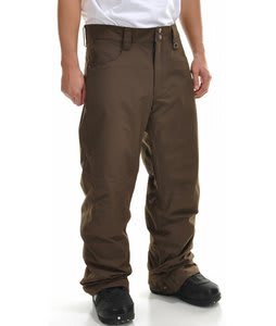 Planet Earth Sequal Snowboard Pants Dark Brown