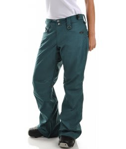 Planet Earth Jersey Hatch Snowboard Pants Teal
