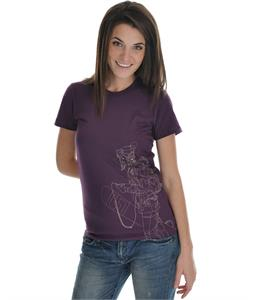 Sierra Headphones T-Shirt Eggplant
