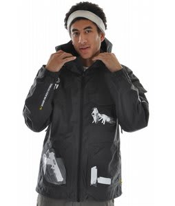 Analog Wire Snowboard Jacket X-Ray Black
