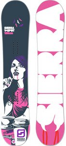 Sierra V Spot Snowboard 138
