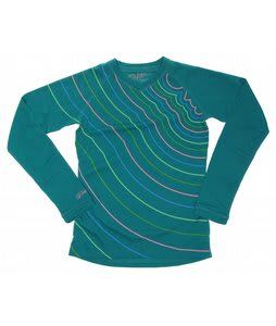 Dakine Nebula First Layer V-Neck Top Jade