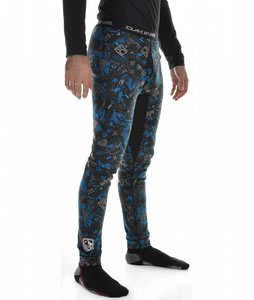 Dakine Midweight Ridge Pants Black Cyan Chop Shop