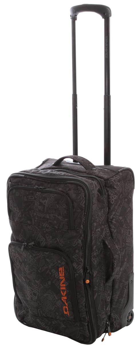 Shop for Dakine Over Under Travel Bag Black Chop Shop - Men's
