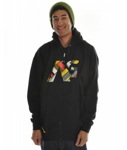 Analog Lineation Basic Hoodie True Black