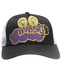 Analog Bubble Eyes Trucker Cap True Black