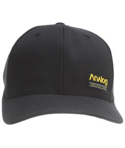 Analog Legend Flexfit Cap True Black