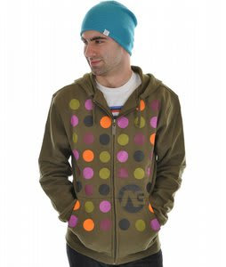 Analog Crtsian Basic Hoodie Military Green