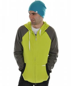 Analog Ironman Hoodie Lime Green 