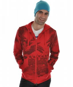 Analog Profile Hoodie Red Venom 