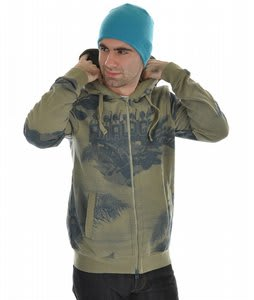 Analog Profile Hoodie Leafy Green 