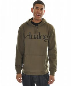 Analog Standarad Basic Hoodie Military Green 