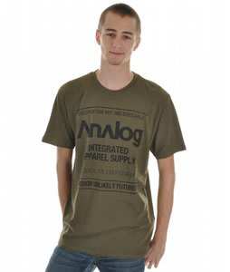 Analog Utility Fitted S/S T-Shirt Military Green