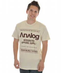 Analog Utility Fitted S/S T-Shirt
