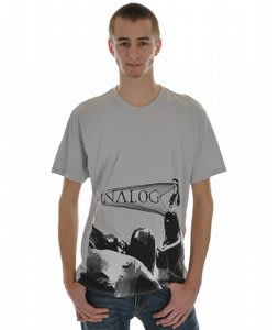 Analog Venerator Fitted S/S T-Shirt Silver