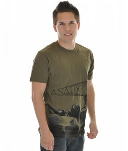 Analog Venerator Fitted S/S T-Shirt Military Green