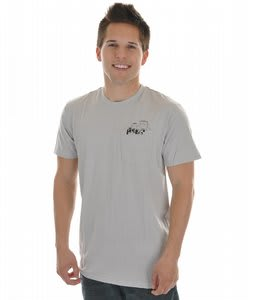 Analog Never Let Premium T-Shirt Silver