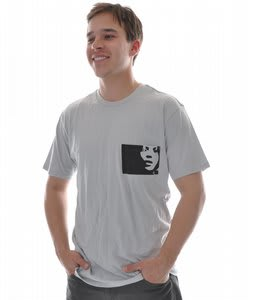 Analog Stilleto Premium T-Shirt Silver