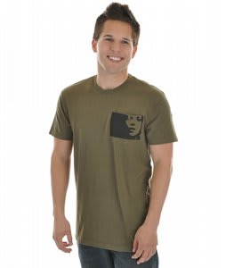 Analog Stilleto Premium T-Shirt Military Green
