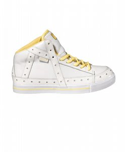 Gravis Gemini Hi Skate Shoes White