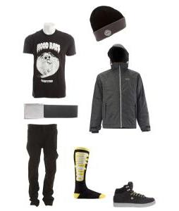 Basic Black Winter Wear