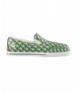 Gravis Lowdown Slip On Skate Shoes Flash Monkey