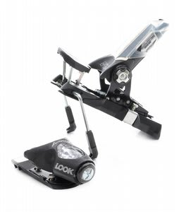 Look Px Racing 15 Fs Wide Ski Bindings Brushed Black