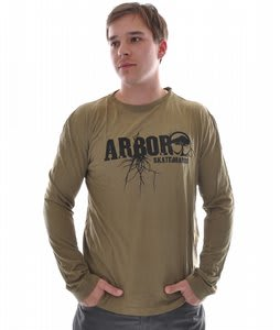 Arbor Roots T-Shirt Army