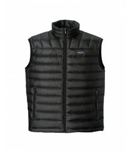 Patagonia Down Sweater Vest Black