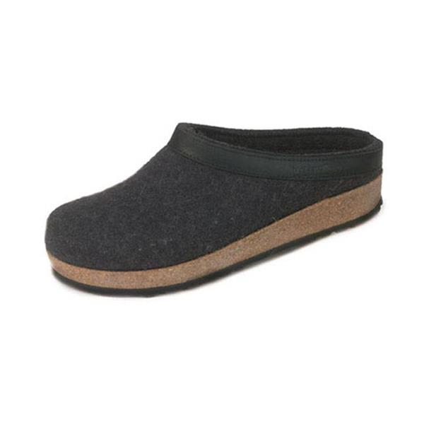 On Sale Haflinger Grizzly Leather Trim Gzl Clogs up to 55% off