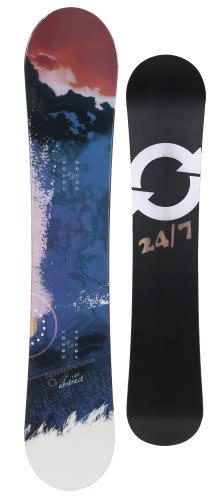 Twenty Four/Seven Abstract Snowboard 148