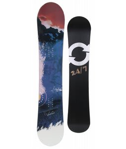 Twenty Four/Seven Abstract Snowboard 152