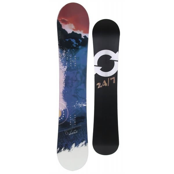 Twenty Four/Seven Abstract Snowboard