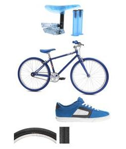 Classic Cool Blue Racer