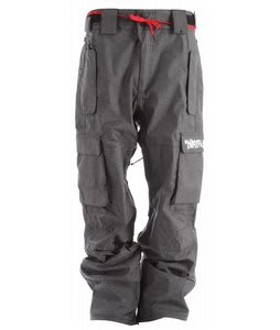 32 - Thirty Two Blahzay Snowboard Pants Dkg Black Rinse