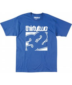 32 - Thirty Two Combo T-Shirt Royal