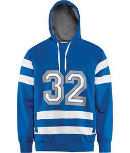 32 - Thirty Two Crosscheck Pullover Hoodie Enamel Blue