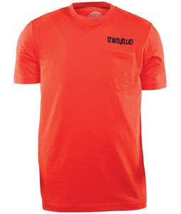 32 - Thirty Two Double T-Shirt Tangerine