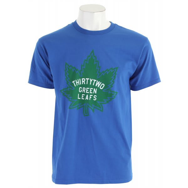 32 - Thirty Two Green Leafs T-Shirt