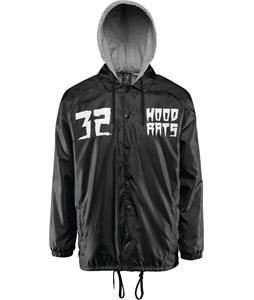 32 - Thirty Two Hood Rats Hooded Coach Jacket