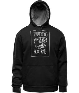 Thirty Two HR Skull Pullover Hoodie Black