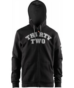 32 - Thirty Two Jacko Zip Hoodie Black